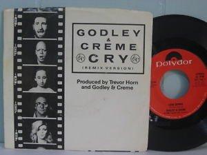 10cc) godley & creme cry mint ps 45