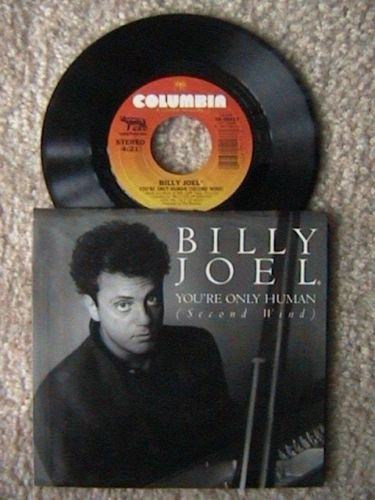 pop) billy joel you're only human MINT ps 45