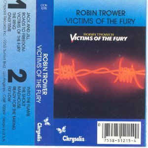 robin trower victims of the fury VG+ XDR PRO cassette