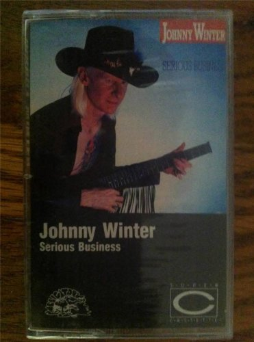johnny winter serious business EX blues pro dolby canada cassette