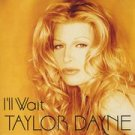 "taylor dayne i'll wait 2 12"" dj dance remix ps set"