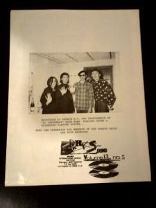 pop new wave) Sparks1986 Fan Club Magazine Vol. #12 Issue #1 MINT