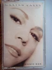 pop) mariah carey music box mint cassette