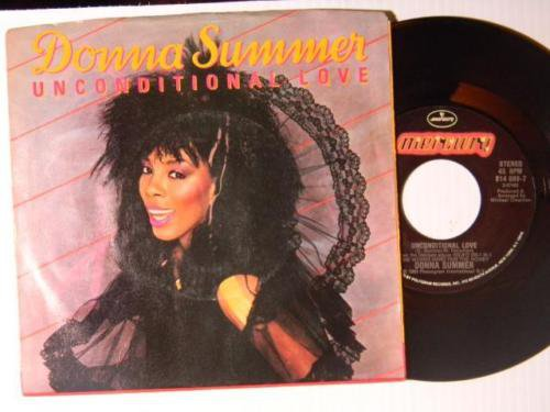 donna summer unconditional love/woman ps 45