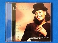 abbey lincoln you gotta pay the band jazz ltd ed pix disc promo cd