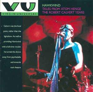 hawkwind tales from atomhenge the robert calvert years rare uk CD
