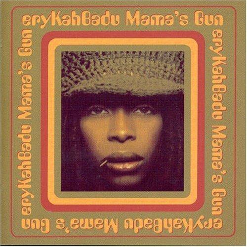 hip hop-soul/erykah badu mama's gun vg+ cd
