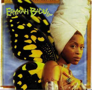 hip hop-soul/erykah badu live cd