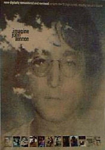 Beatles) John Lennon Imagine NEW 2000 Promo Poster