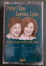 Country Religion) Patsy Cline & Loretta Lynn Just A Closer... '88 Cassette
