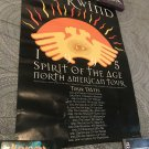 Hawkwind Spirit Of The Age 1995 American Tour Promo Poster