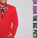 Elton John Big Picture VG+ 1991 Promo Poster
