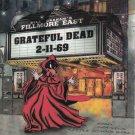 jerry garcia & grateful dead fillmore east 2-11-69 2 cd set