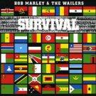 bob marley & the wailers survival mint remaster reggae cd + bonus tracks