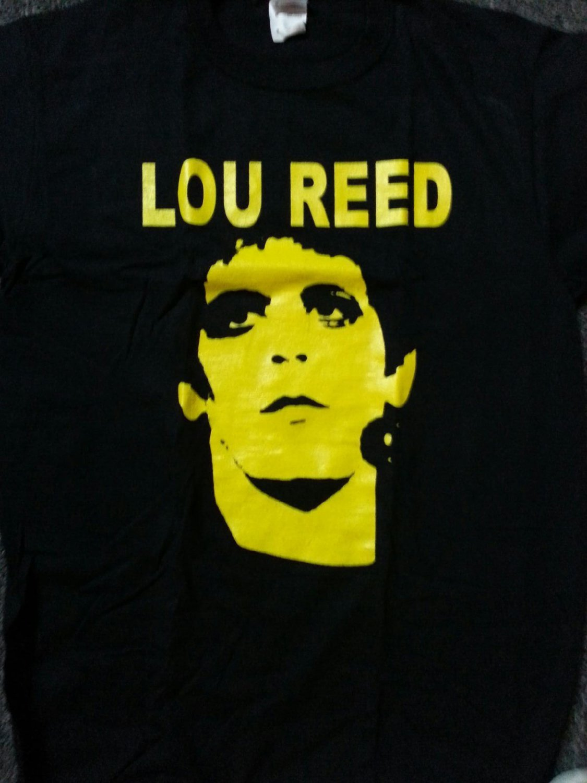 lou reed transformer face new 2xl black tee