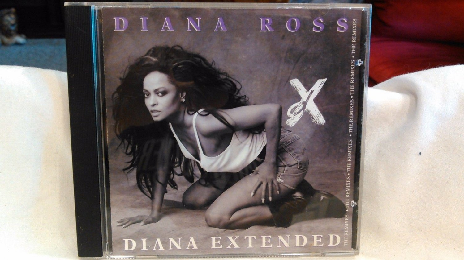 supremes] diana ross extended remix cd