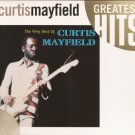 r&b] curtis mayfield very best of pix disc cd