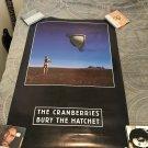 cranberries bury the hatchet 2 sided art promo poster
