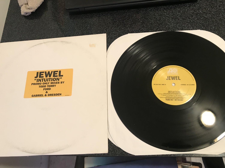 """jewel intuition 7 remixes dj promo 2 12"""" set"""
