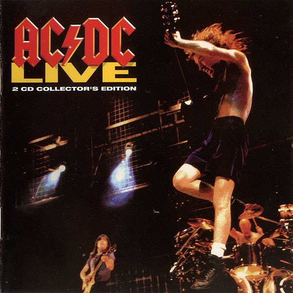 ac dc live collectors edition 2 cd set  + pc graphics