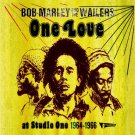 Bob Marley One Love At Studio One '64-'66 Reggae 2 CD Set