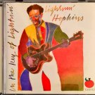 lightin' hopkins in the key of texas blues cd
