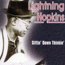 lightin' hopkins sittin' down thinkin' UK blues cd