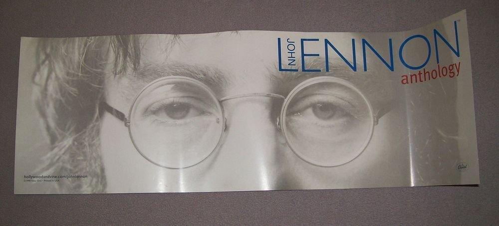 beatles] john lennon anthology 1995 promo poster
