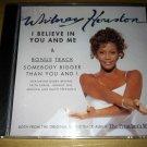 R&B Gospel) Whitney Houston I Believe In... 5 Track op PS CD Single