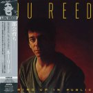 punk] lou reed growing up in public new japan cd & obi strip