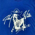 johnny winter guitar slinger logo NEW blues rock 2xl tee