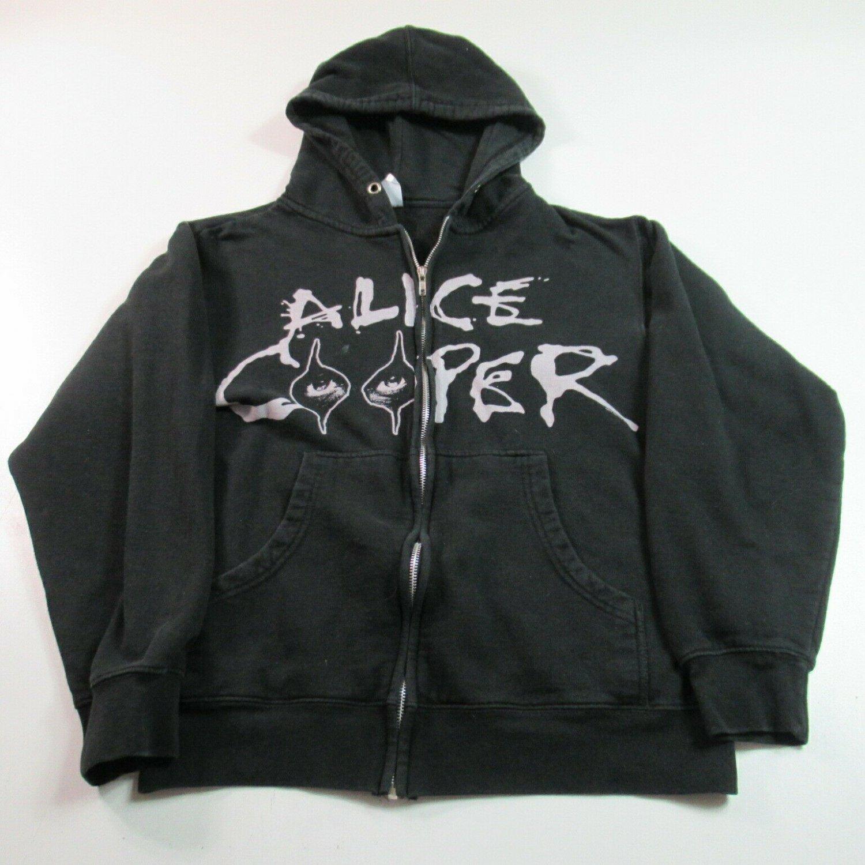 alice cooper EYES vintage 2010 Small zip hoodie