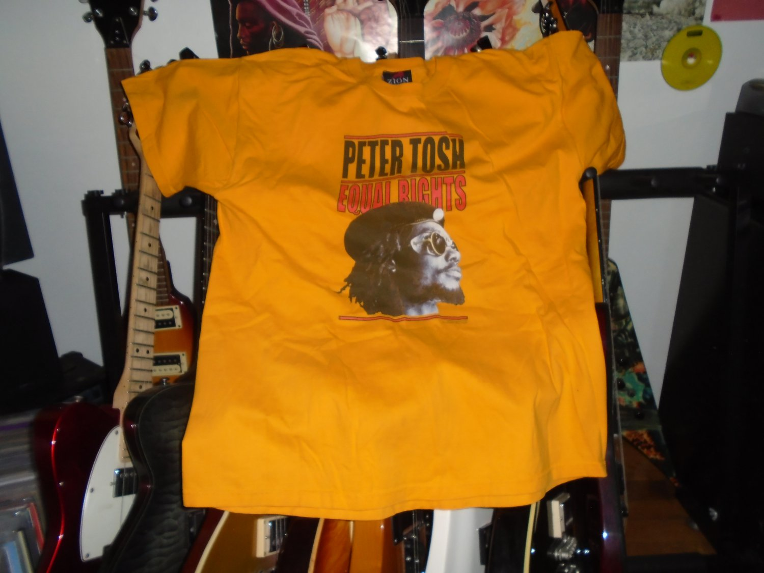 wailers] peter tosh equal rights VINTAGE 2003 xl reggae tee