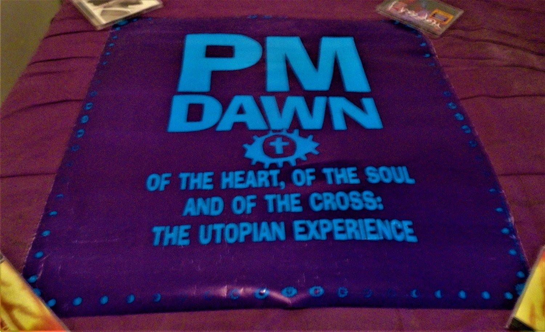 hip hop rap r&b] pm dawn the utopian experience 1991 promo poster