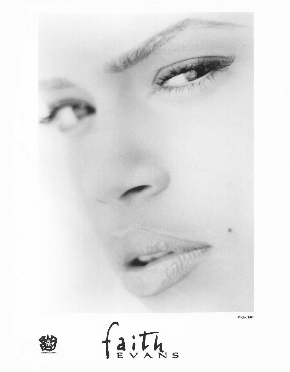 Hip Hop, R&B Faith Evans Mint '95 Press Kit/Photo