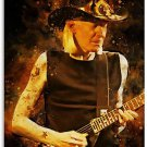 johnny winter guitar slinger period 1985 NEW big canvas tapestry banner