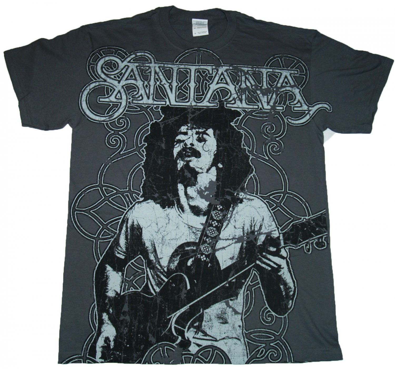 latin rock/ carlos santana excellent 2xl unisex tee - abraxas