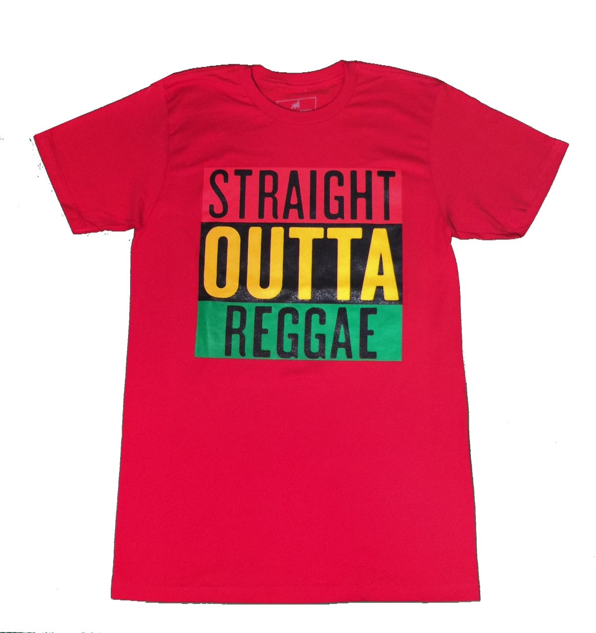 straight out reggae red 2xl tee made in mexico. MINT