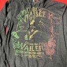 bob marley nov. 1979 vintage m reggae hoodie EXCELLENT SHAPE!