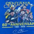 carlos santana 60th anniversary ltd edt. 3xl tee