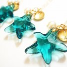 Swarovski Starfish Crystal 14k Gold Filled Necklace - Hypoallergenic sensitive skin