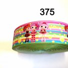"5 yard - 1.5"" Lalaloopsy Jewel Sparkle, Tippy Polka Dot Grosgrain Ribbon"