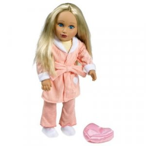 """Girls on the Go 18"""" Fashion Dolls: Melody in Peach Parfait Oufit"""