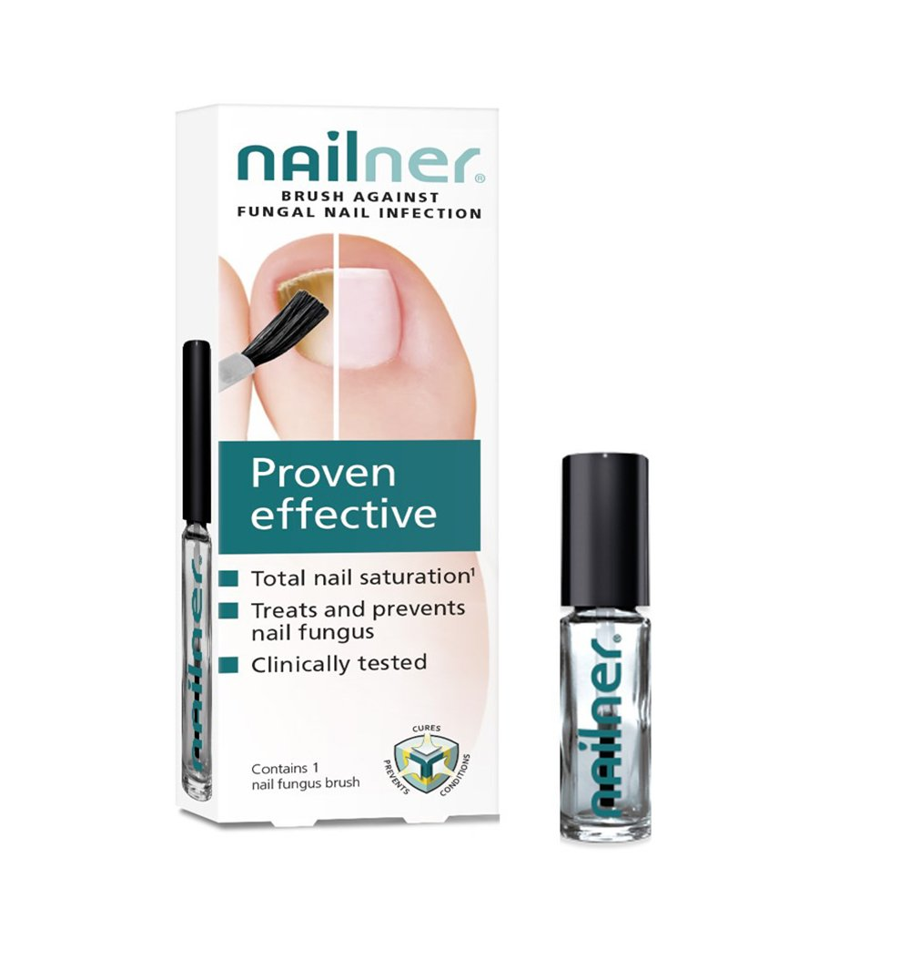 Nailner 2 In 1 Repair Brush Nail Infection Fungus Treatment 5ml