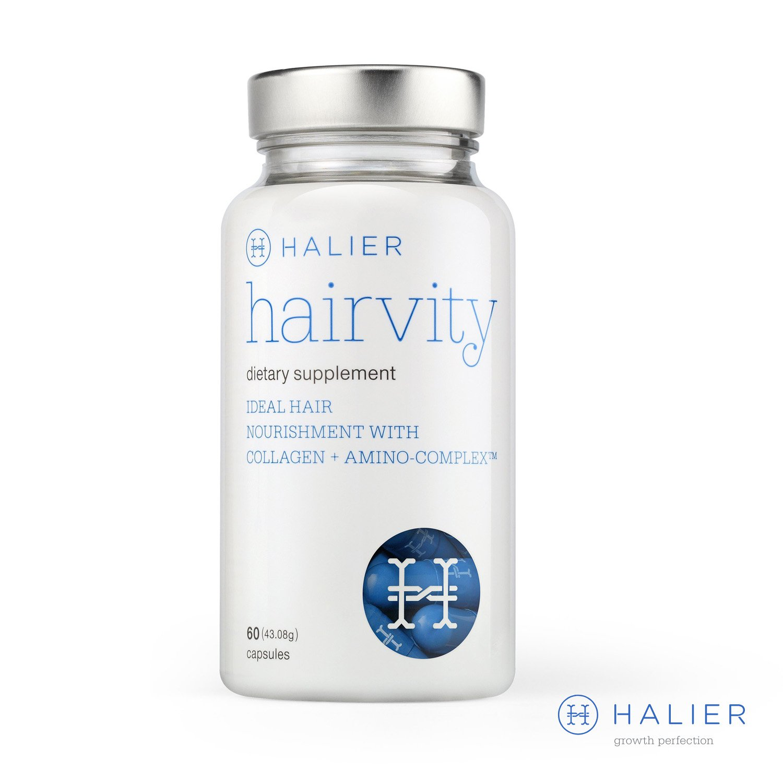 Halier Hairvity Hair Vitamins for Women Food Supplement