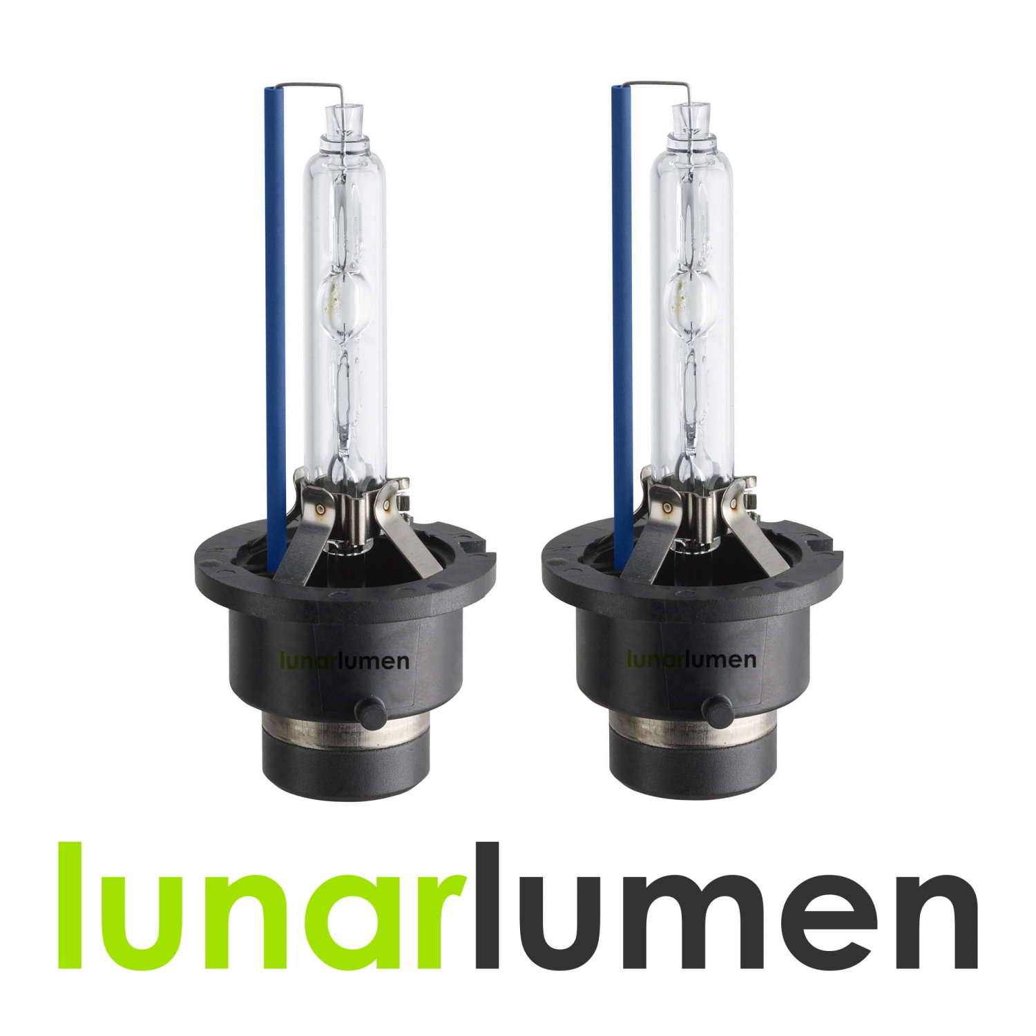 2 x Lunar Lumen D4S HID Xenon Headlight Bulbs 10000K
