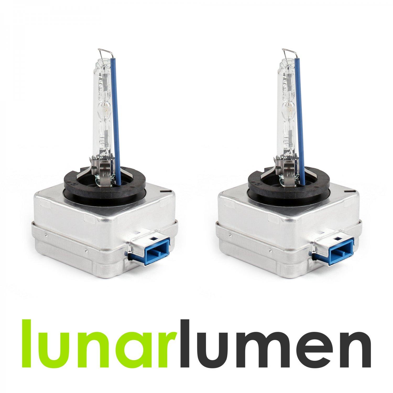 2 x Lunar Lumen D8S HID Xenon Headlight Bulbs 4300K