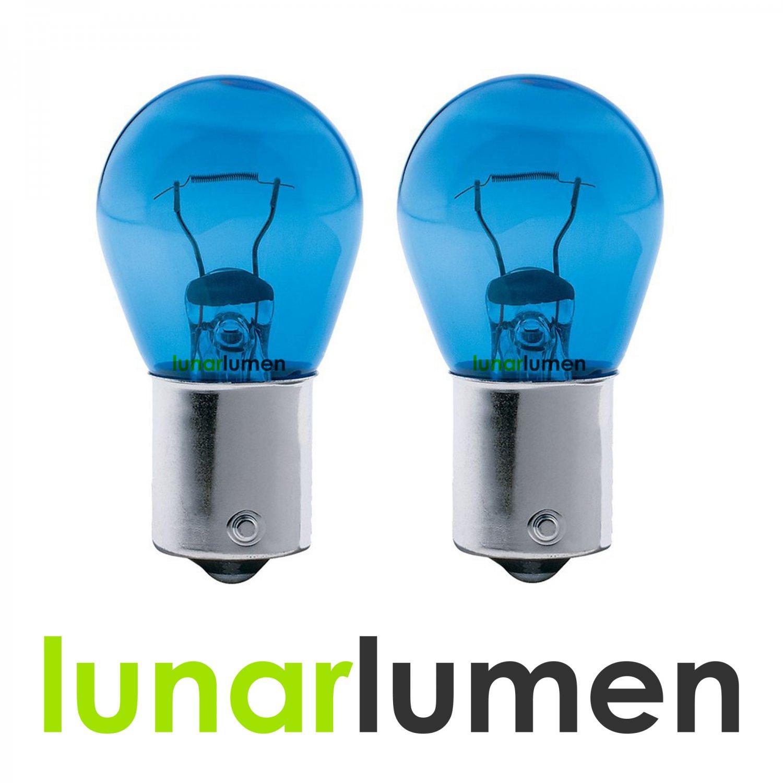 2 x Lunar Lumen 1156 Super White 5000K P21W 382 182 Bulbs