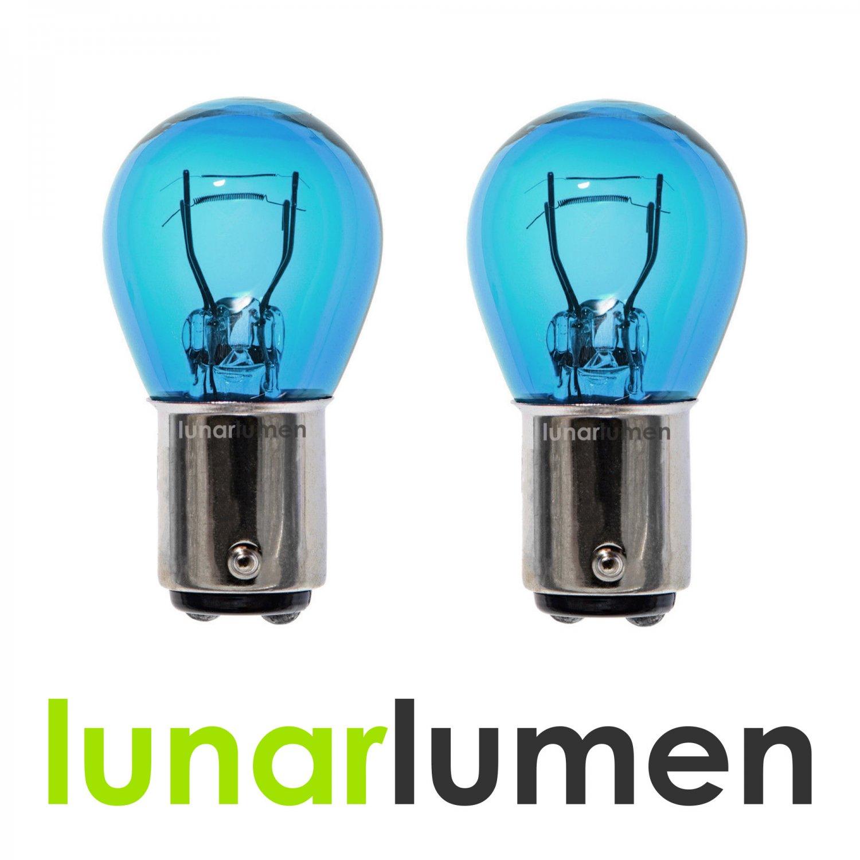 2 x Lunar Lumen 1157 Super White 5000K P21/5W Halogen Bulbs