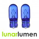 2 x Lunar Lumen W5W T10 Super White 5000K 501 Halogen Bulbs